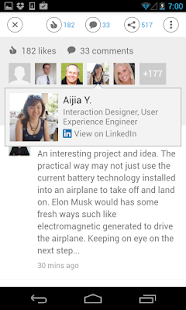 LinkedIn Pulse - screenshot thumbnail