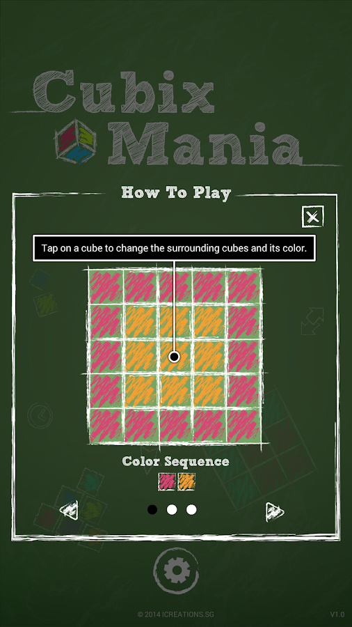 Cubix Mania- screenshot