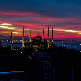 Sunrise in Istanbul by Farrah-Diba Sing - City,  Street & Park  Skylines ( sunrise, travel, turkey, istanbul, travel photography, , Urban, City, Lifestyle )