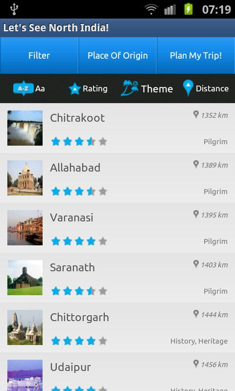 Let's See! North India Guide- screenshot