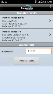 Transportation FCU Mobile - screenshot thumbnail