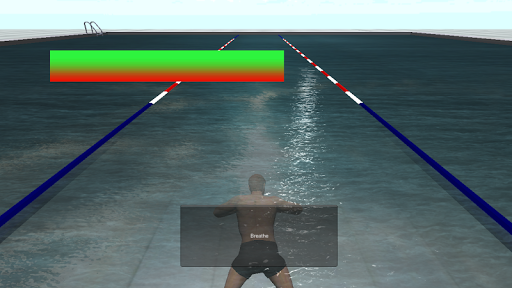 Breath training in swimming