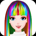 Rainbow Hair Style Hairdresser icon