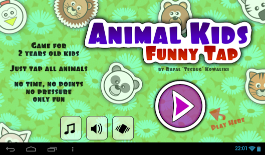 Animal Kids Funny Tap- screenshot thumbnail
