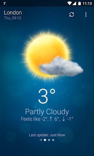 Weather- screenshot thumbnail