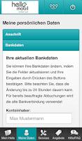 Screenshot of helloMobil Servicewelt