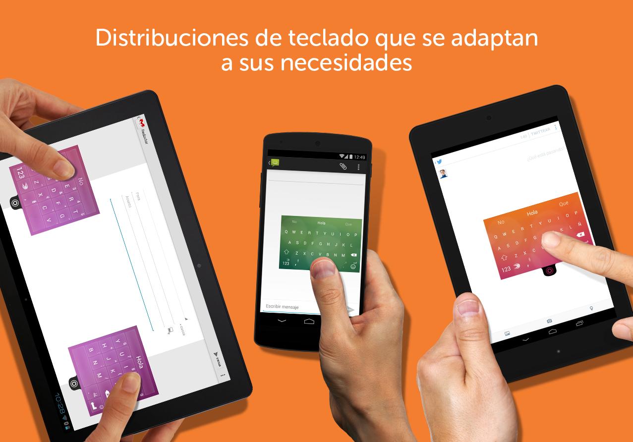 Teclado SwiftKey + Emoji - screenshot