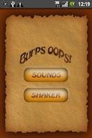 Screenshot of Cheeky burps Ringtones !
