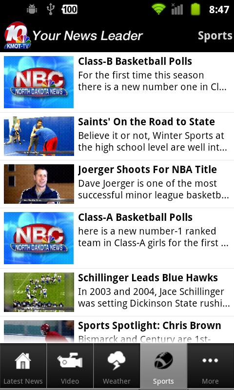 KMOT-TV Mobile News - screenshot