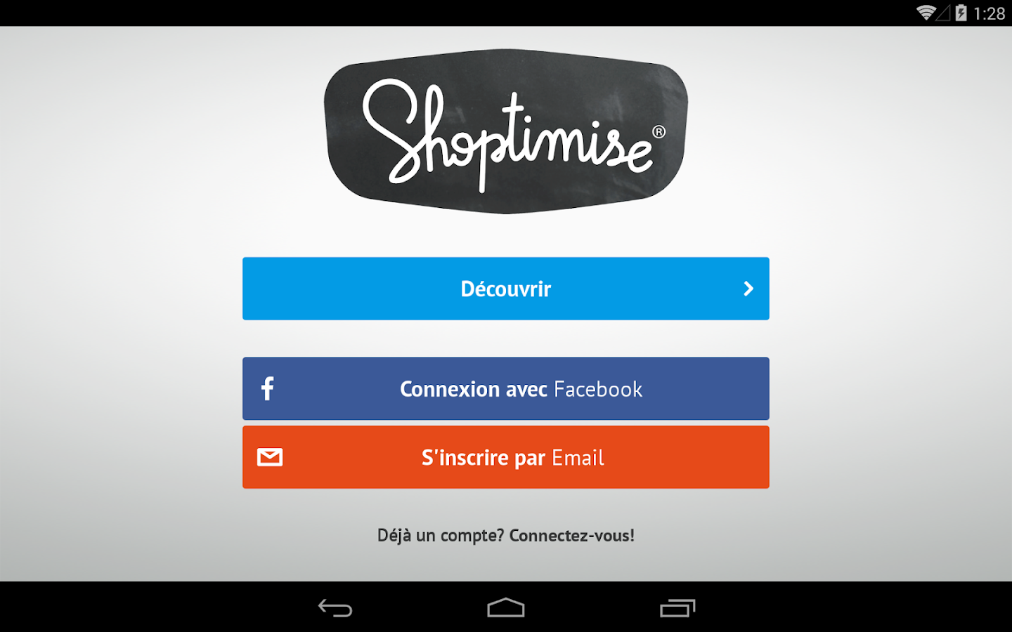 Shoptimise- screenshot