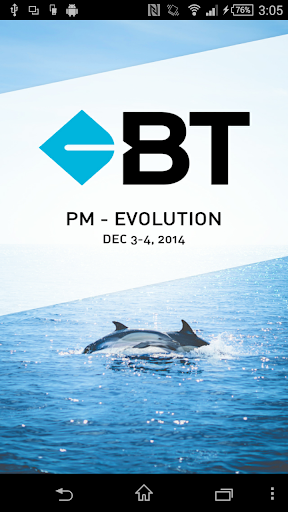 BT PM - Evolution