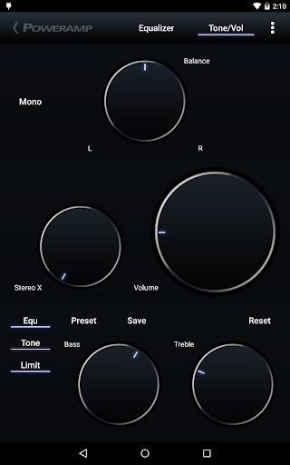 Power Amp music player