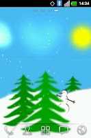Screenshot of nn5n Winter Live Wallpaper