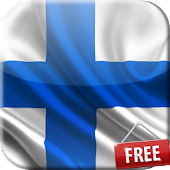 Flag of Finland Live Wallpaper