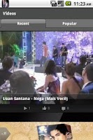 Screenshot of Luan Santana