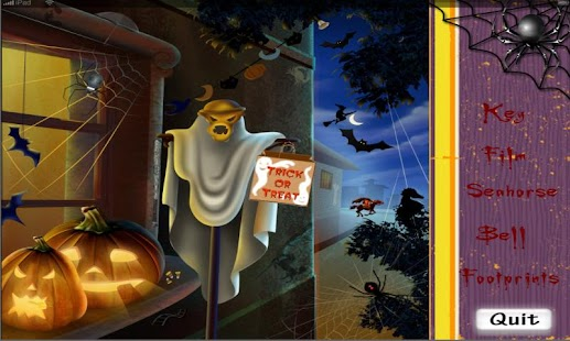 2011 Halloween Hidden Objects- screenshot thumbnail