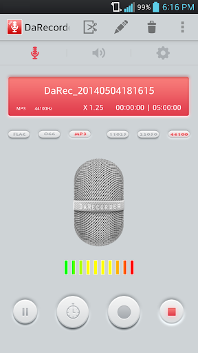 玩免費音樂APP|下載MP3 レコーダー / 録音アプリ (倍速録音、 倍速再生) app不用錢|硬是要APP