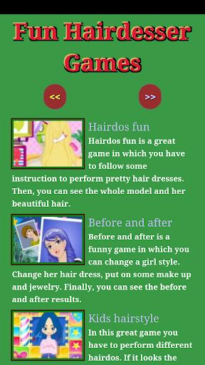 Fun Hairdresser Games