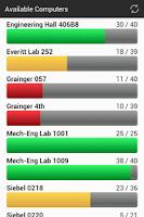 Screenshot of UIUC EWS Labs