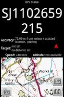 Screenshot of GPS Grid Reference Lite