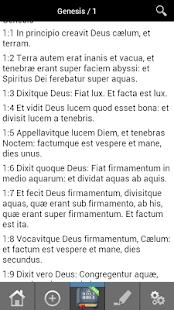 Vulgate Latin Bible FREE! - náhled