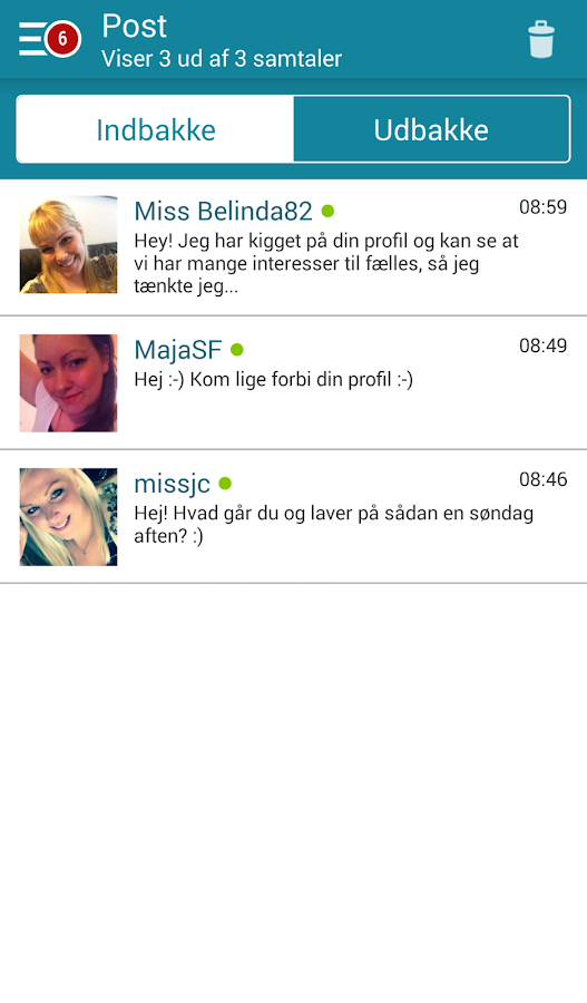 Dating.dk- screenshot