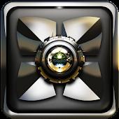 Next Launcher Theme Silver Gen