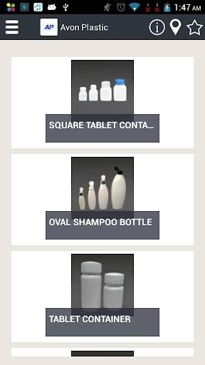 Catalog of Avon Plastic