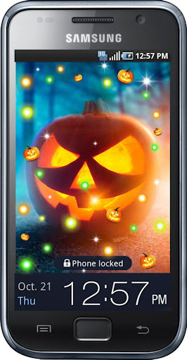 Music Halloween live wallpaper