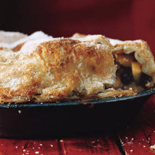 Rum Raisin Apple Pie.