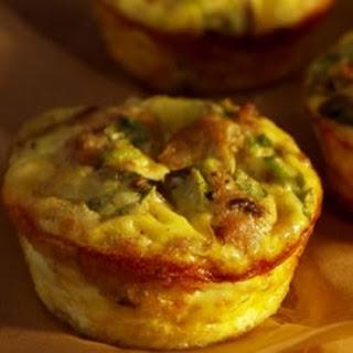 Artichoke and Feta Cheese Souffle