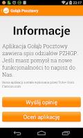 Screenshot of Gołąb Pocztowy