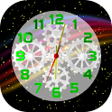 Space Clock 3D LWP icon