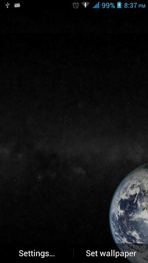 壁紙從太空