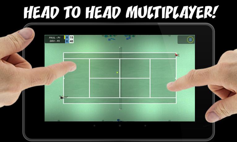Flick Tennis screenshot #15