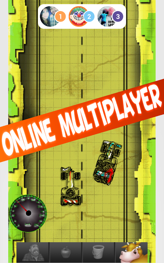 Doodle Racer Blitz Multiplayer - screenshot
