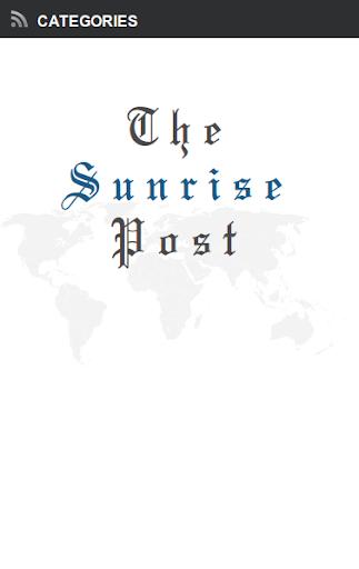 The Sunrise Post