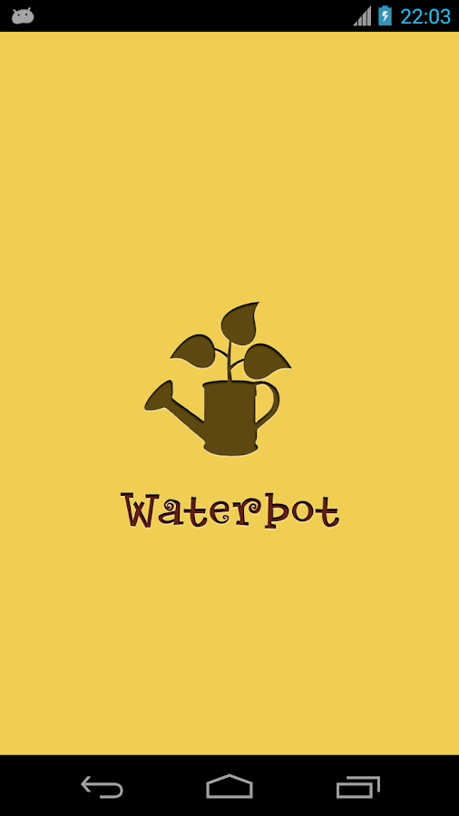 Waterbot: Plants watering - screenshot
