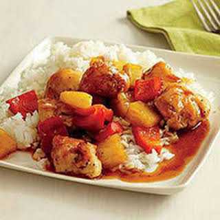 Sweet-and-Sour Chicken.