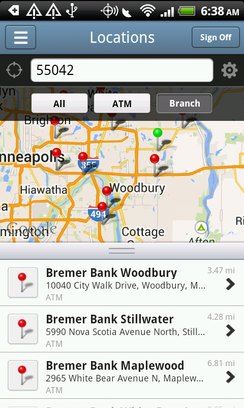 Bremer Bank Mobile - screenshot
