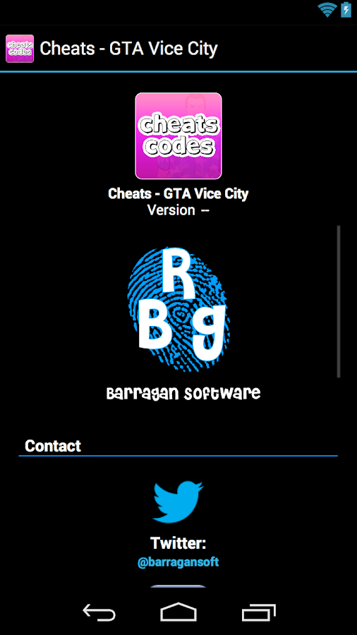 Cheats - GTA Vice City - screenshot