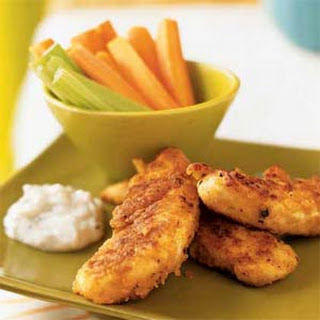 Chicken Strips with Blue Cheese Dressing