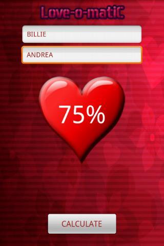 Love-o-matiC - screenshot