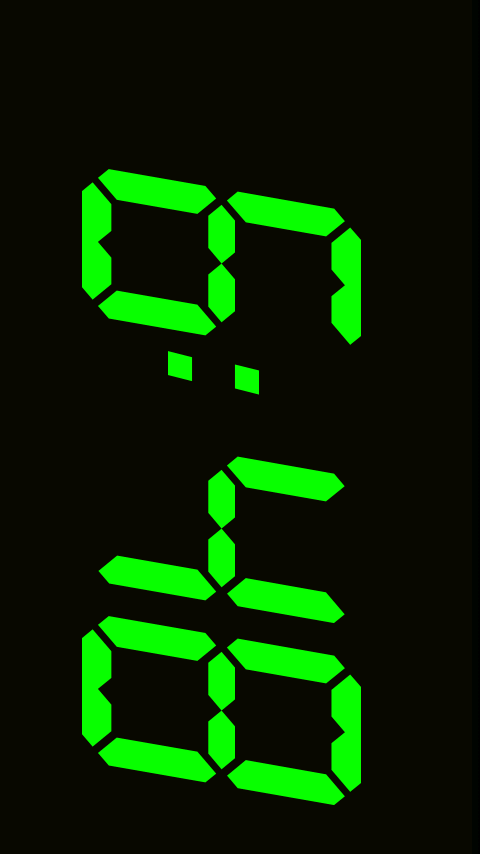 Big Digital Clock - screenshot