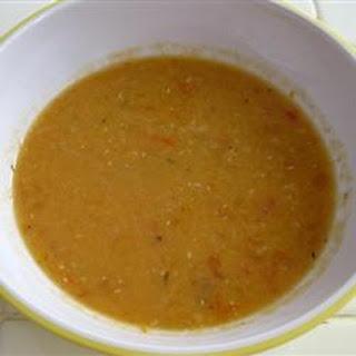 Apricot Lentil Soup