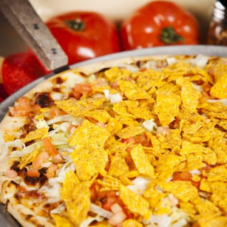 Out of this World Mexican Pizza