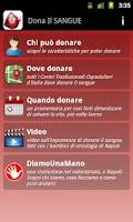 Screenshot of Dona il SANGUE