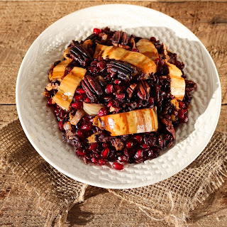Black Rice Winter Stir Fry