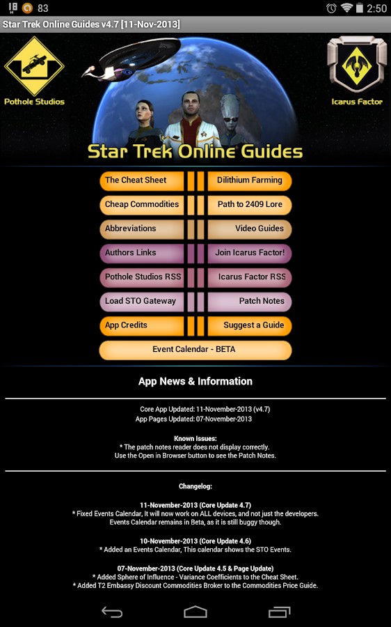 Star Trek Online Guides - screenshot
