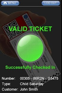 The FOAT Ticket Scanner App- screenshot thumbnail